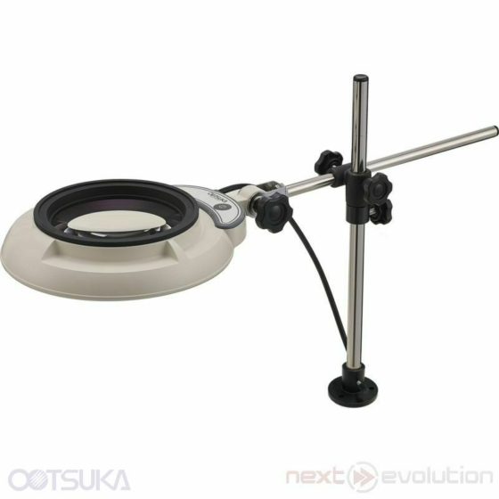 OTSUKA OPTICS SKKL-D Munkalapra rögzíthető nagyítós lámpa / Illuminated magnifier fixed to a workbench
