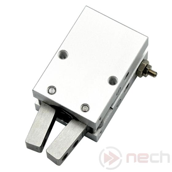 NECH MHC2-16D / Csereszabatos pneumatikus szögmegfogó munkahenger / NECH MHC2 Series IC Pneumatic Angular Gripper 1