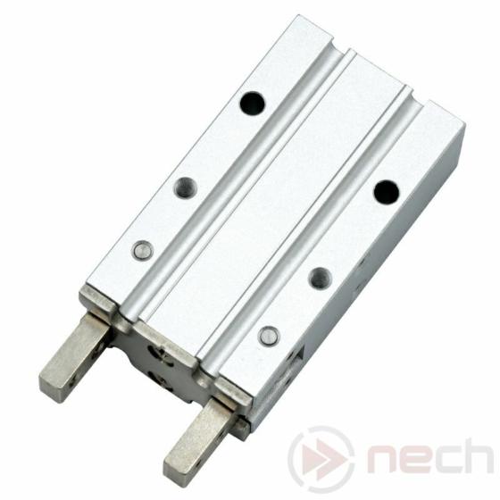 NECH MHY2-20D / Csereszabatos pneumatikus 180°-os szögmegfogó munkahenger / NECH MHY2 Series IC Pneumatic 180° Angular Style Gripper 1