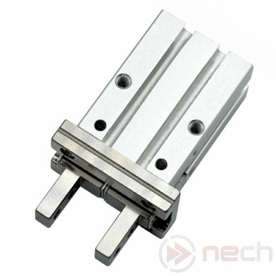 NECH MHZ2-25D / Csereszabatos pneumatikus párhuzamos megfogó munkahenger / NECH MHZ2 Series IC Pneumatic Parallel Gripper 1