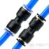 Kép 4/4 - NECH PU Series two way connector 4